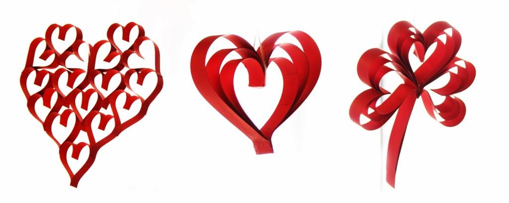 Corazon De Corazones Trebol De Corazones Corazon Triple - Corazones-de-decoracion