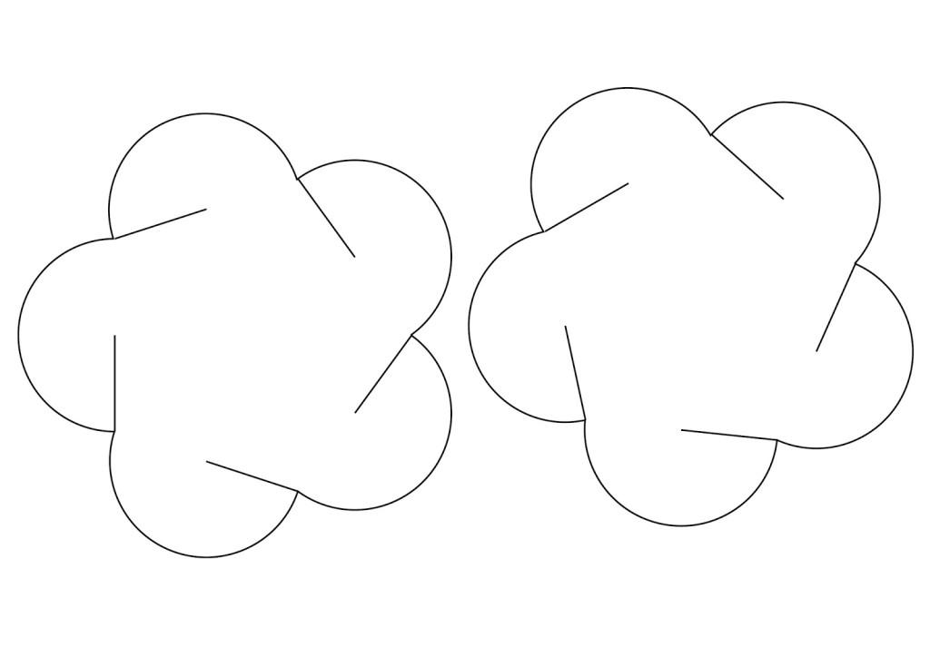 Como hacer lampara de papel 12 piezas jeguridos - Piezas para lamparas ...